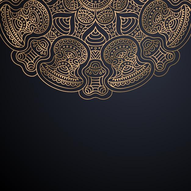 Naadloze patroon. vintage decoratieve elementen patroon Gratis Vector