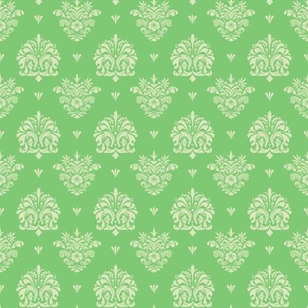 Naadloze vintage patroon, vector naadloze retro achtergrond Gratis Vector
