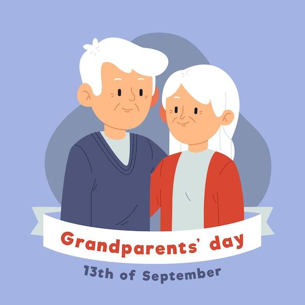 Nationale grootouders dag vs. Gratis Vector