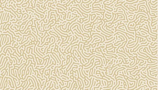 Natuurlijke organische lijnen patroon achtergrond Gratis Vector