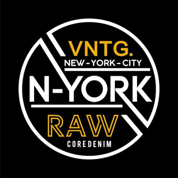 New york labelsjabloon Premium Vector