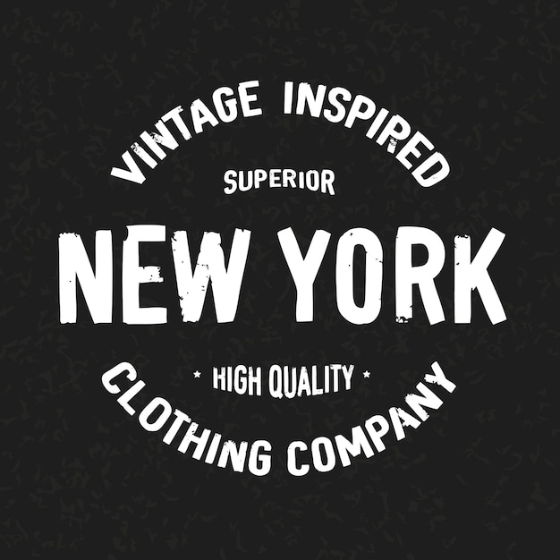 New york Premium Vector