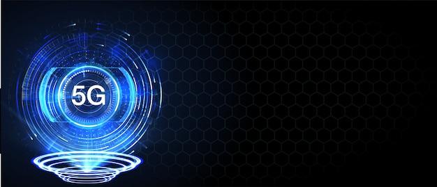 Nieuwe draadloze internet wifi-verbinding. big data binaire code stroomnummers. Premium Vector