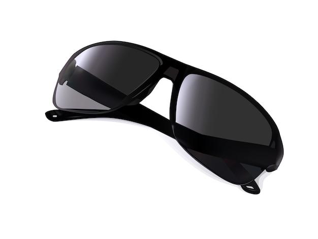 c22b9b87452d2a Nieuwe zonnebril met reflectie van licht Premium Vector