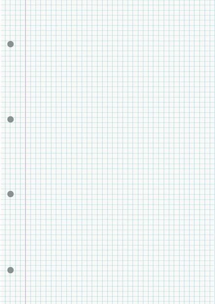 Notebook gerasterde bladachtergrond Premium Vector
