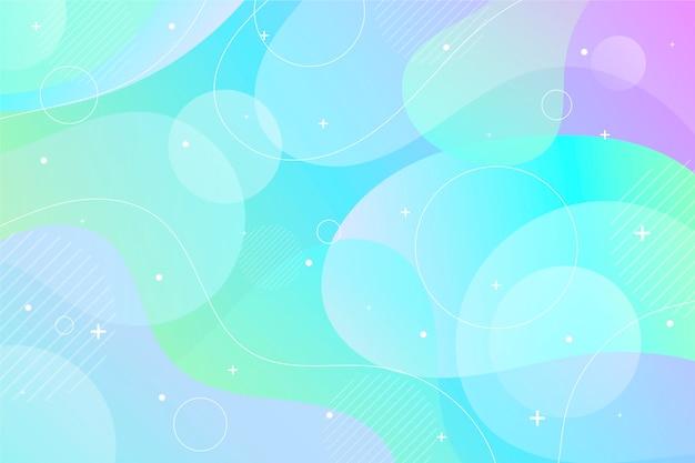 Oceaan pastelkleur blauwe kleurenachtergrond en exemplaarruimte Gratis Vector