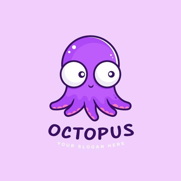Octopus logo concept Premium Vector