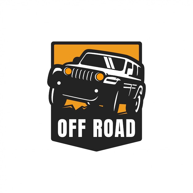 Off road adventure logo vector Premium Vector