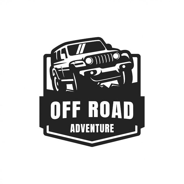 Off road vector badge-logo Premium Vector