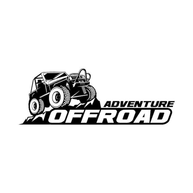 Offroad-logo Premium Vector