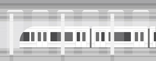 Ondergrondse metro Premium Vector
