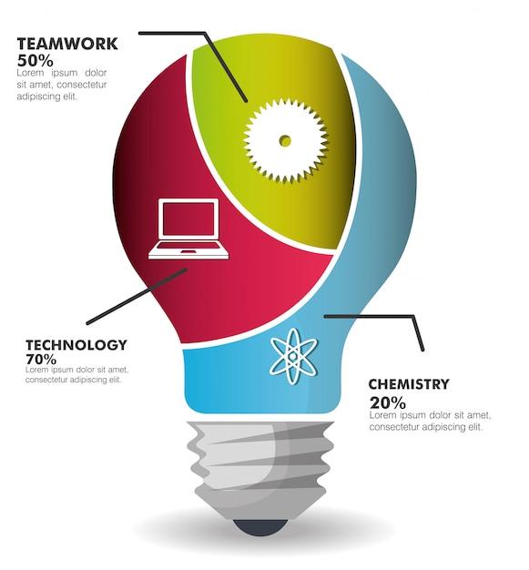 Onderwijs infographic Gratis Vector