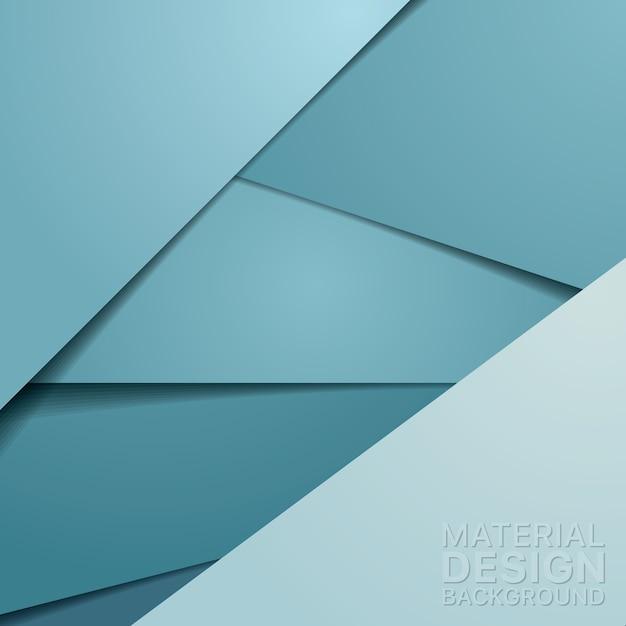 Ongebruikelijke moderne materiaalontwerpachtergrond Gratis Vector