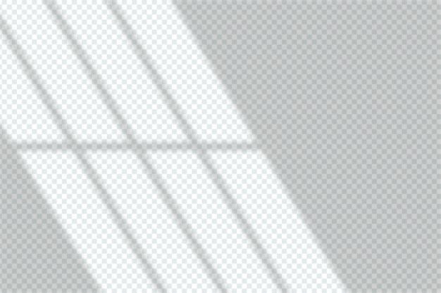 Ontwerp met grijze schaduwen overlay-effect Gratis Vector