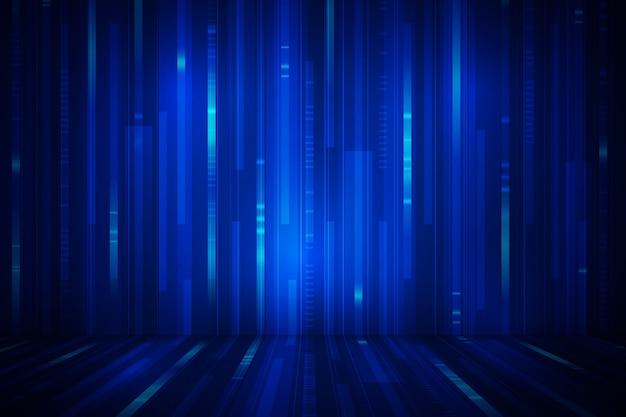 Ontwerp van achtergrondtechnologie Gratis Vector