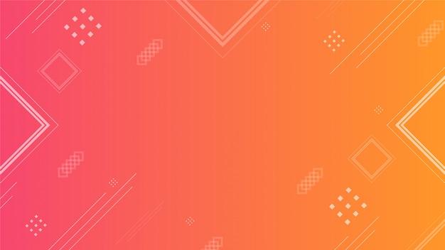 Oranje abstracte achtergrond Premium Vector