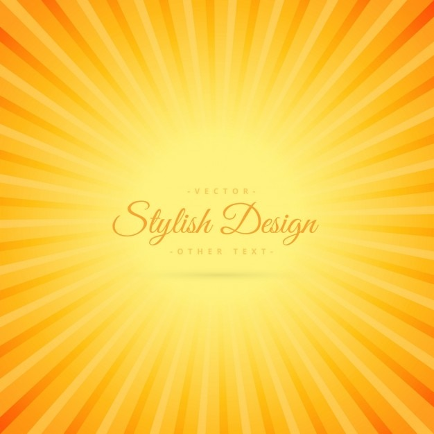 Oranje kleur achtergrond met transparante lijn effect Gratis Vector