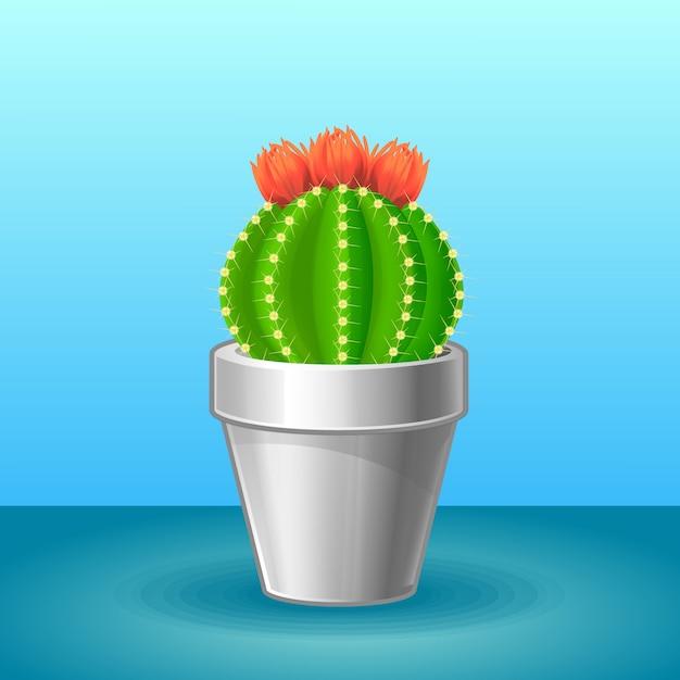 Organisch exotisch plantconcept Gratis Vector