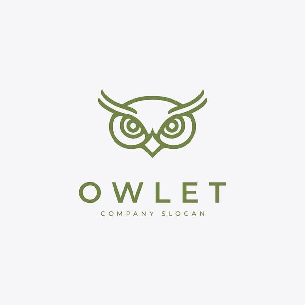 Owlet-logo Premium Vector