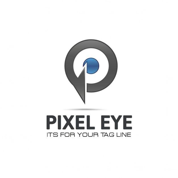 P logo Gratis Vector