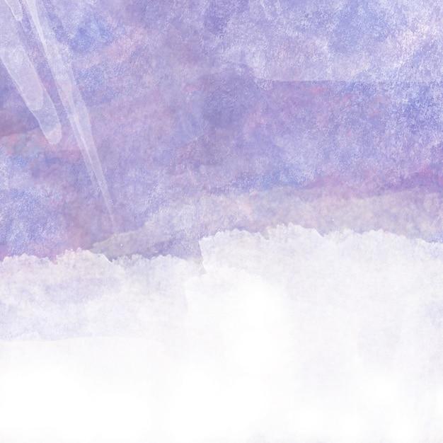 Paarse aquarel met witte ruimte voor tekst Premium Vector