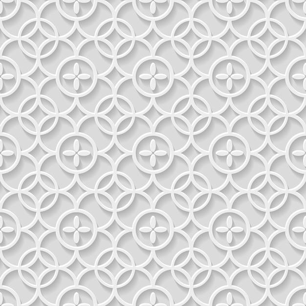 Papier grijs naadloze patroon Premium Vector