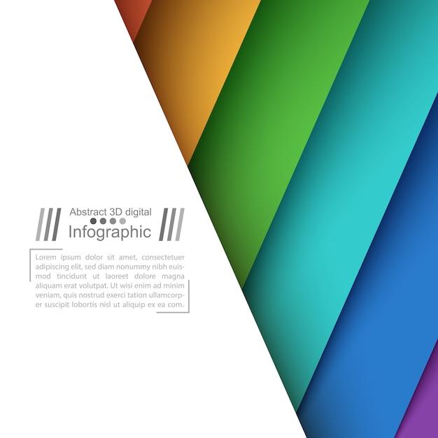 Papieren origamistijl - papieren achtergrond Premium Vector