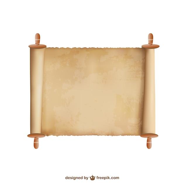 Papyrus vector achtergrond Gratis Vector