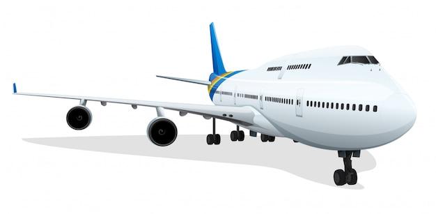 Passagiersvliegtuig Gratis Vector