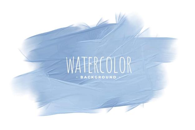 Pastel blauwe aquarel textuur concept achtergrond Gratis Vector