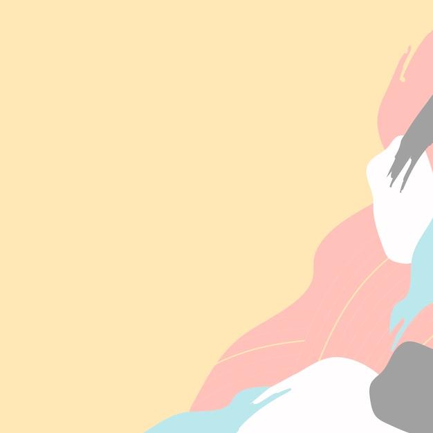 Pastel kleurrijke achtergrond Gratis Vector