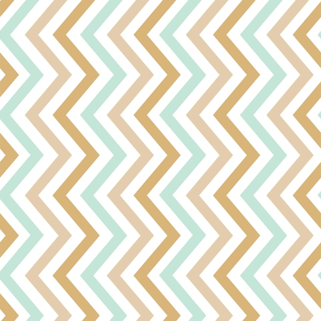 Pastel naadloze zigzag patroon vector Gratis Vector