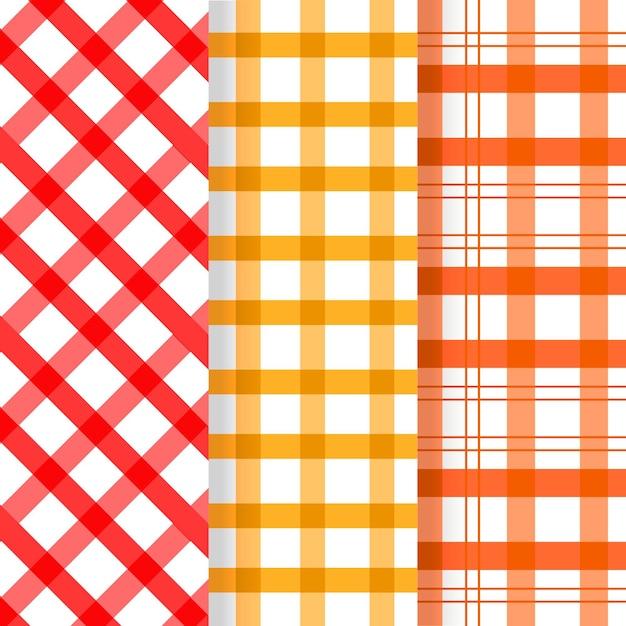 Pastel pastel patroon collectie Gratis Vector