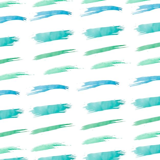 Pastelkleur groene waterverf achtergrondvector Gratis Vector