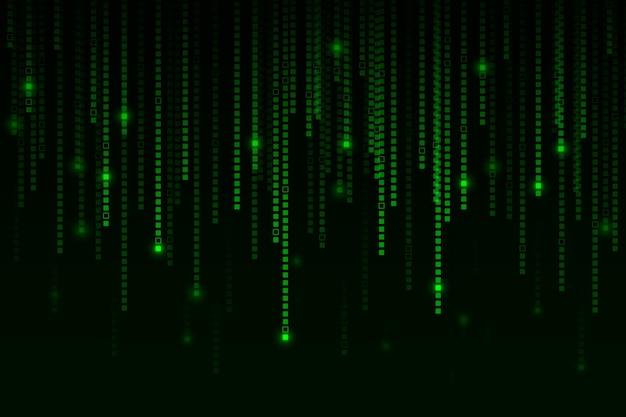 Pixel regen abstracte achtergrond Gratis Vector