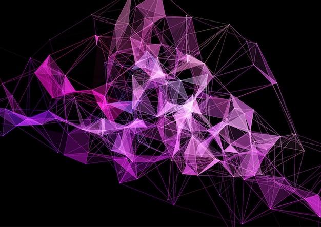 Plexus modern design, verbindingen, netwerk, futuristisch Gratis Vector