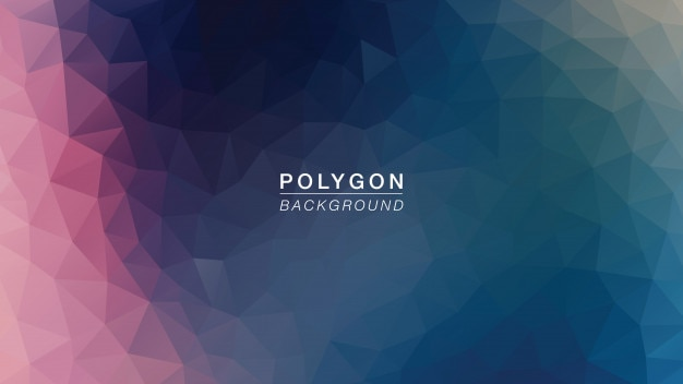 Polygoon galaxy light Premium Vector