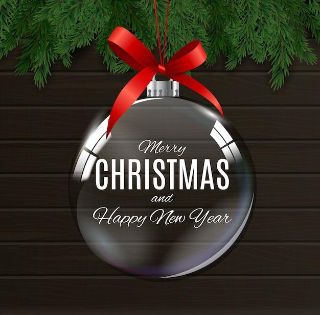 Prettige kerstdagen en gelukkig nieuwjaar posters Premium Vector