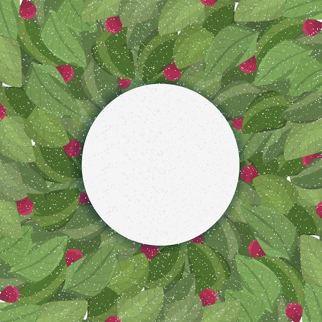 Print zomer bladeren achtergrond vector kunst groen Premium Vector