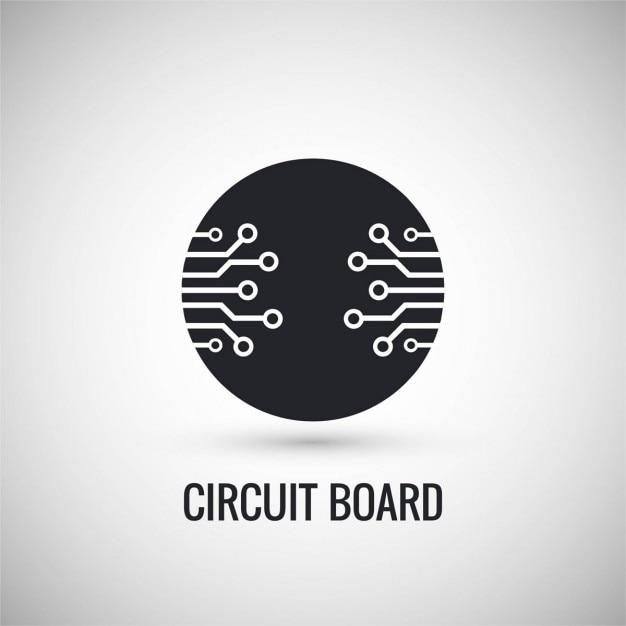 Printplaat ontwerp Gratis Vector