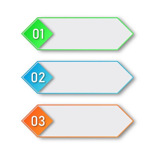 Processtappen. infographic elementen. Premium Vector