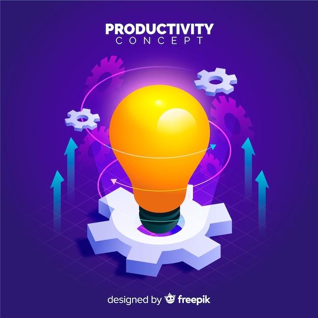 Produktiviteit Premium Vector