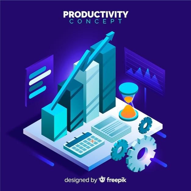 Produktiviteit Gratis Vector