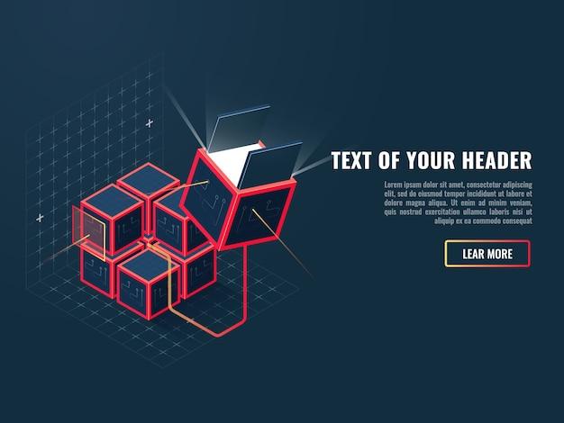 Programmaverkopen, toevoeging installatieconcept, ontwikkeling en creatie van website Gratis Vector