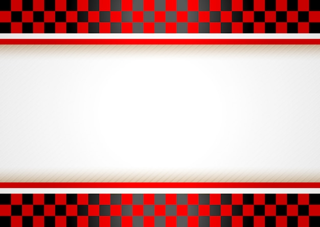 Race horizontale achtergrond Premium Vector