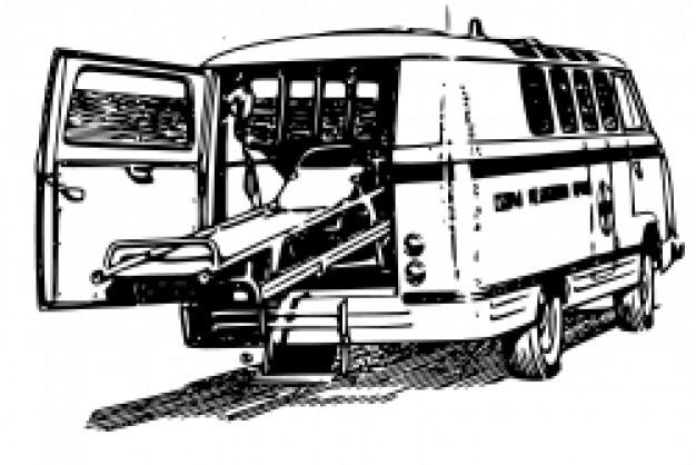 Raf977 ambulance Gratis Vector
