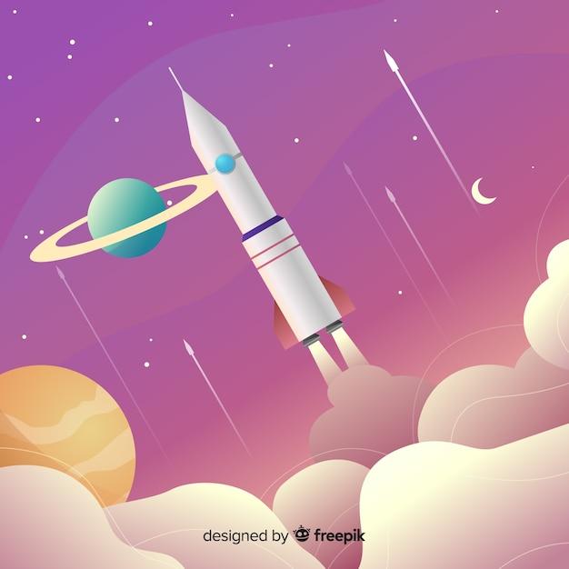 Raket Gratis Vector