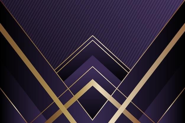 Realistische elegante geometrische vormenachtergrond Gratis Vector