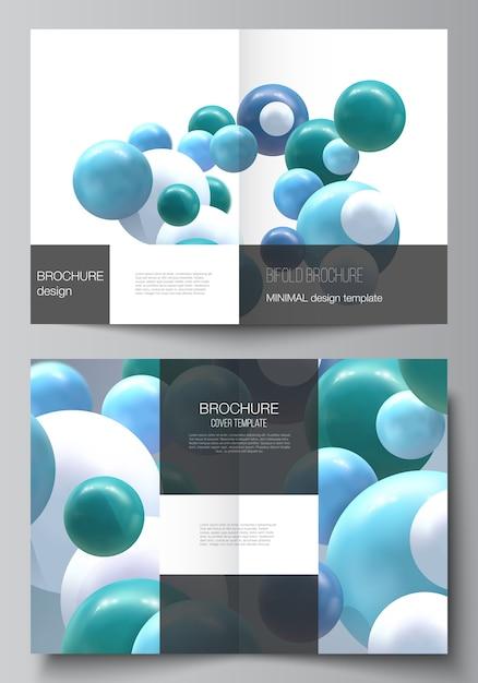 Realistische vector achtergrond met veelkleurige bollen, bubbels, ballen. Premium Vector