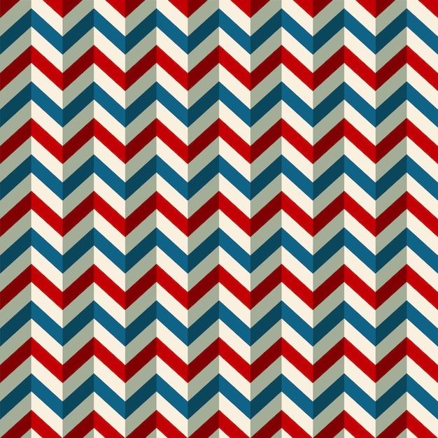 Retro amerikaanse patriottische kleuren als achtergrond Premium Vector